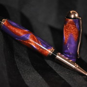 Purple & Copper Rollerball