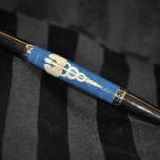 Blue Caduceus Pen