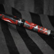 Red & Black Cigar Pen